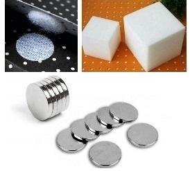 Липучки, магниты, поролоновые кубики