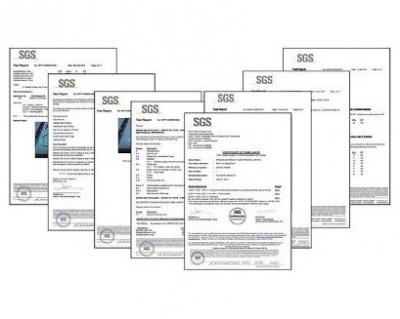Сертификаты качества на изделия из пищевого силикона